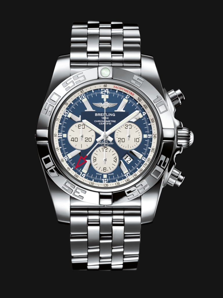 Breitling Chronomat GMT 47mm Blue Dial Steel Watches Replica