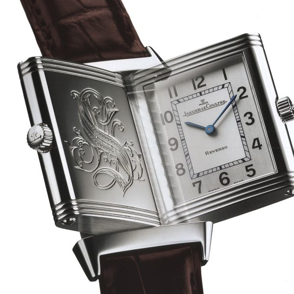 High Quality Jaeger-LeCoultre Reverso Duo White Dial Brown Leather Replica Watches