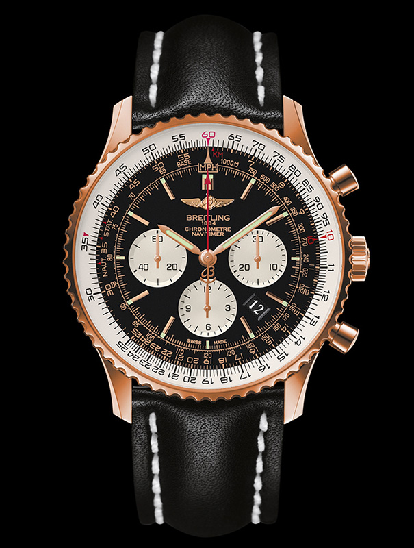 The Most Luxury Replica Breitling Navitimer 01 Rose Gold Watches