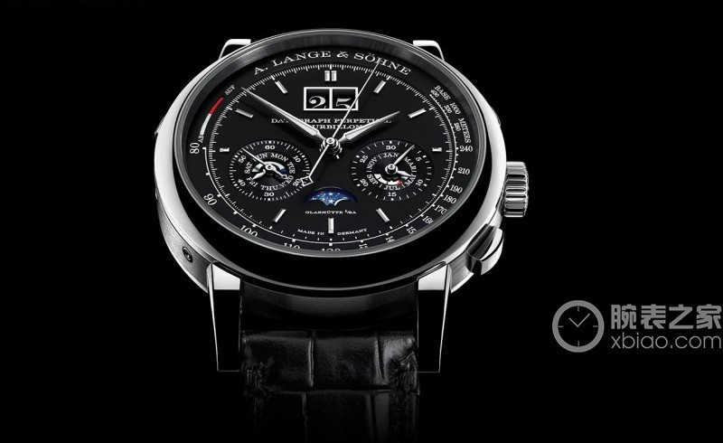 Let you know about the a. lange & söhne datograph perpetual tourbillon black dial steel replica watch ref.740.036F