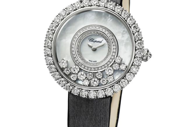 Chopard replica watches happy diamonds collection: Forty Years