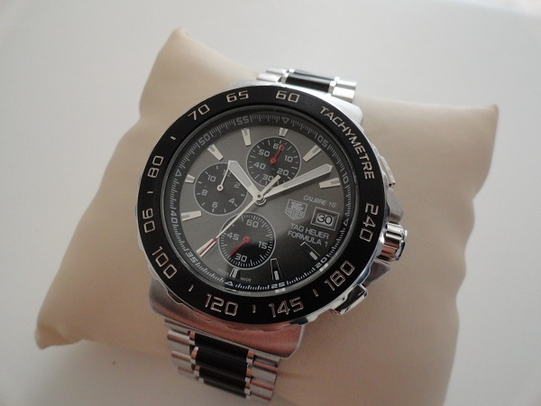 Steel Case Tag Heuer Formula 1 Calibre 16 Replica Watch