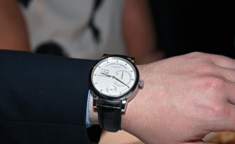 Cheap a. lange & söhne lange 31 replica watch with power reserve