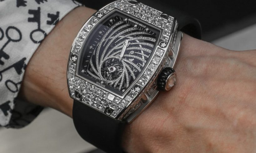 Richard Mille RM 51-02 Tourbillon Diamond Twister Replica Watch