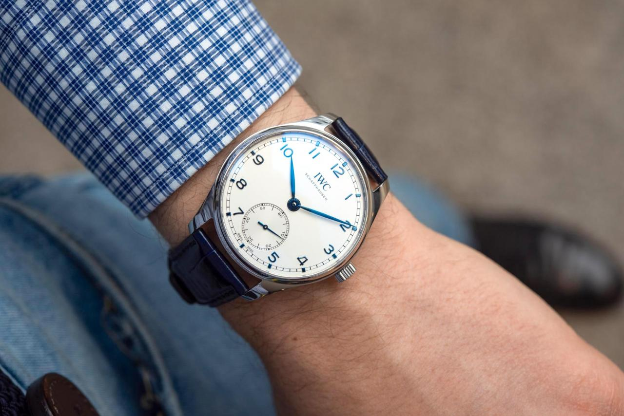 IWC Portugieser Automatic 40 replica watches Combines Compact Size & Manufacture Movement
