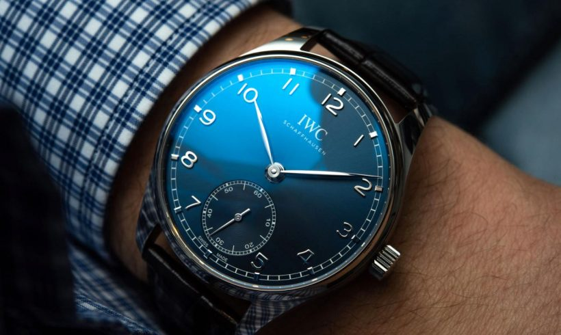 IWC Portugieser Automatic 40 combines compact size and manufacturing process